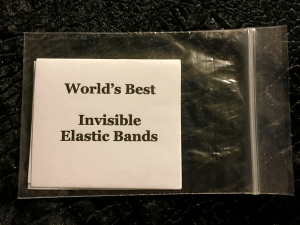 Invisible Elastic Bands in the bag